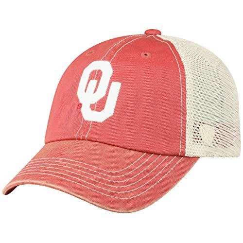 - Top of the World Oklahoma Sooners Men's Vintage Hat Icon, Cardinal, Adjustable