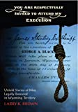 You Are Respectfully Invited to My Execution, Larry Brown, 093127141X