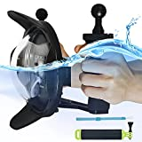First2savvv Diving Underwater Camera Lens Dome Port Lens Housing with Hood and 2 Handheld Grips for GoPro Hero 3+ 4 with LCD Sreen Underwater Photography + diving stick