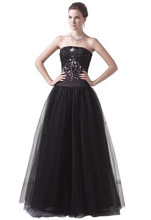 Classic Black Evening Dress