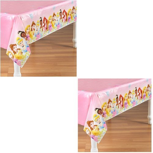 Disney Fanciful Princess Party Plastic Tablecovers - 2 Pieces ()