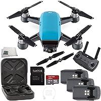 DJI Spark Quadcopter (Sky Blue) + DJI Spark Remote Ultimate Bundle
