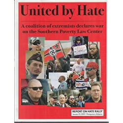 Southern Poverty Law Center Anti-Hate Group rally flyer 2003