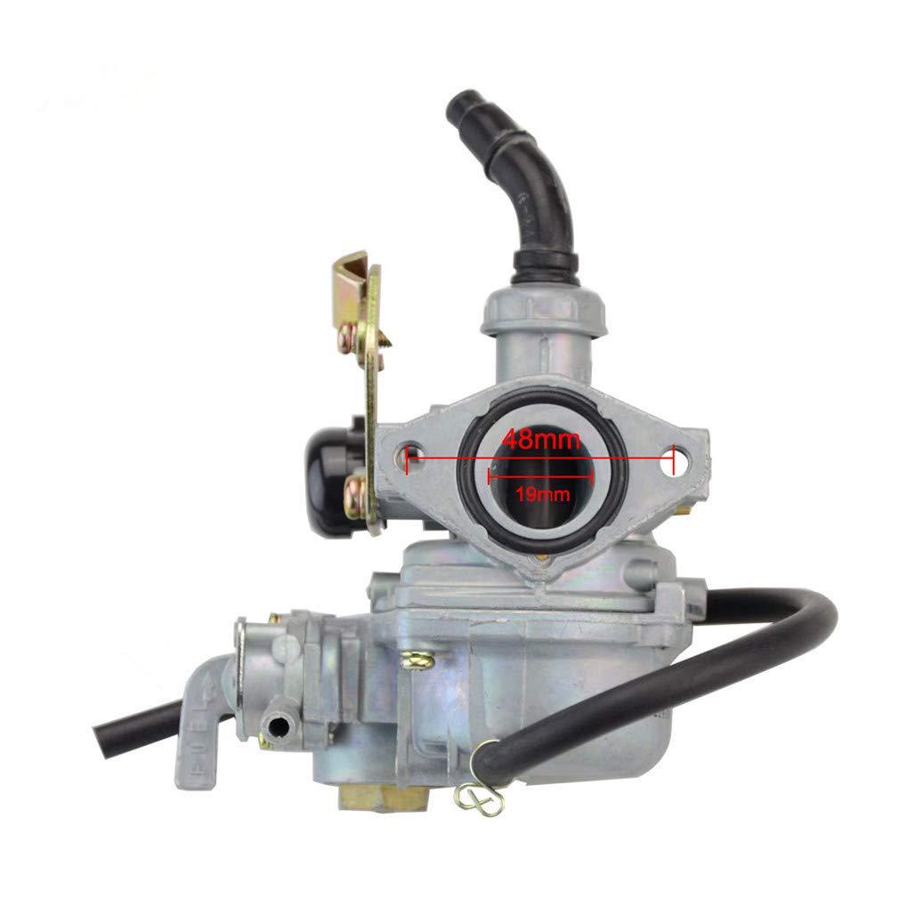 GOOFIT Carburador 19 PZ19 Minimoto Chino con Conmutador para ...