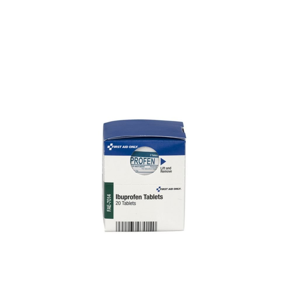 FAE-7014 - SmartCompliance Ibuprofen Refill - SmartCompliance Ibuprofen Refill, First Aid Only - Box of 10 by First Aid Only