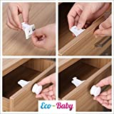 Baby-Child-Proof-Cabinet-Drawers-Magnetic-Safety-Locks-Set-of-12-with-2-Keys-By-Eco-Baby-Heavy-Duty-Locking-System-with-3M-Adhesive-Tape-Easy-To-Install-Without-Damaging-Your-Furniture