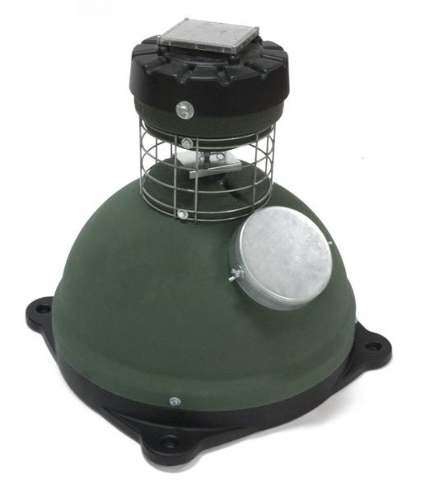 200 POUND CAPSULE FEEDER WITH BASE