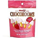 Meiji Strawberry Chocorooms 1.34 oz each (1 Item Per Order)