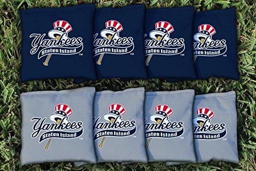 Victory Tailgate 8 Staten Island Yankees MiLB Regulation Corn Filled Cornhole Bags