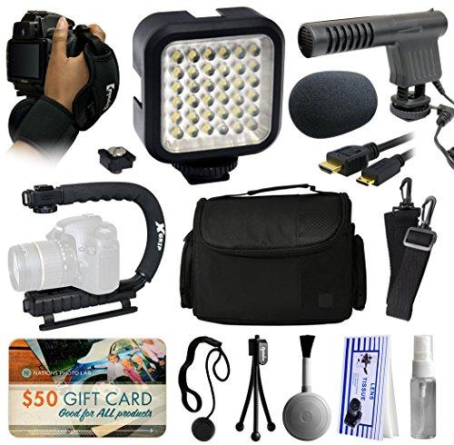 Premium Accessories Package for Nikon DF D7200 D7100 D7000 D