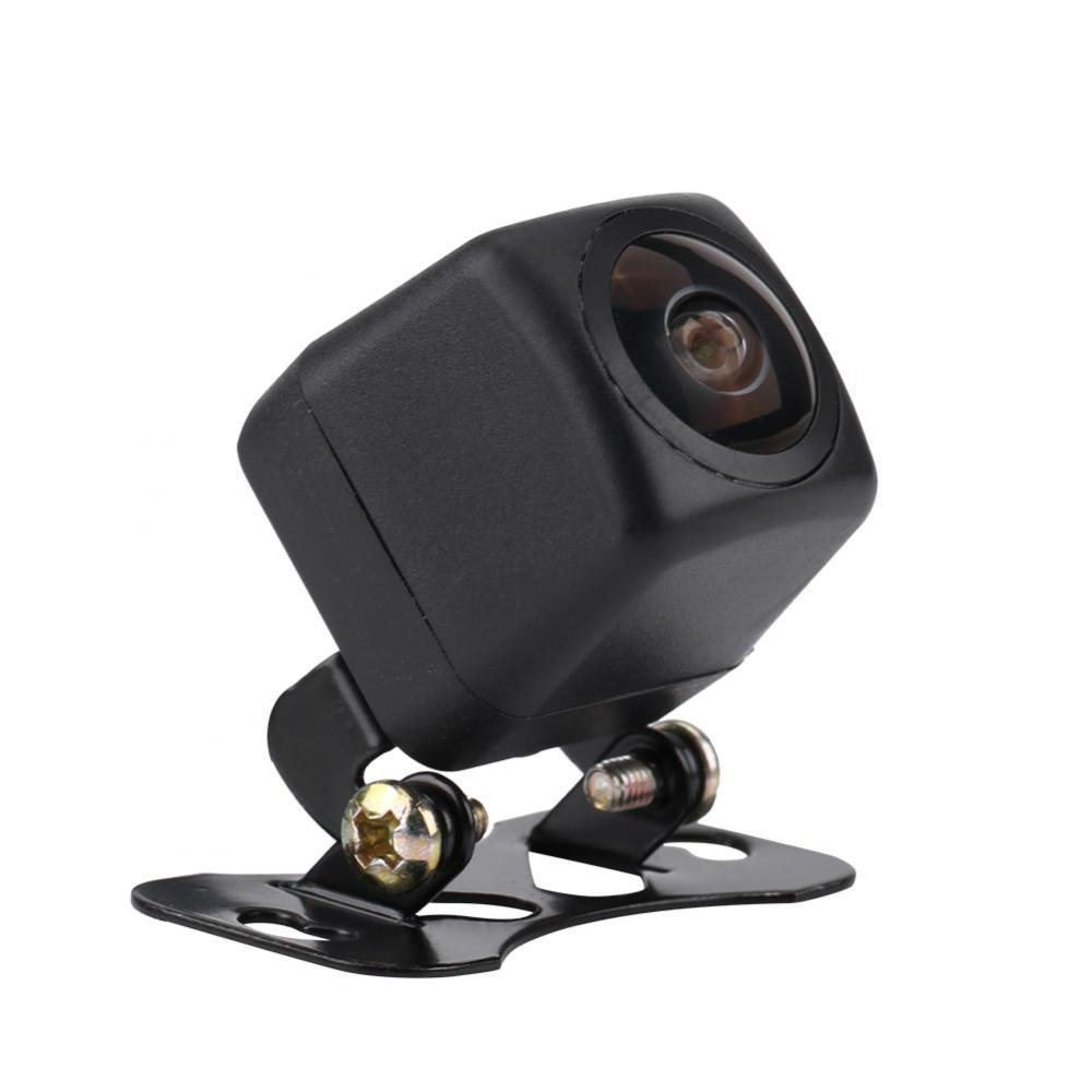 Qii lu 170° Wide Angle Fisheye Lens HD Night Vision Car Rearview Camera Car Reverse Backup Rear View Camera Waterproof