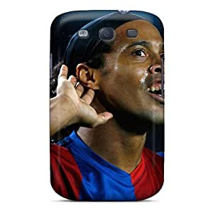 Hot Design Premium AgzyB26157ktNXs Tpu Case Cover Galaxy S3 Protection Case(the Best Football Player Of Atletico Mineiro Ronaldinho)