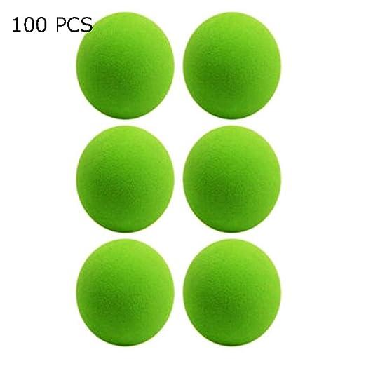 Pelotas de Golf 100-pack de pelota de práctica de golf cubierta ...