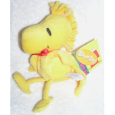 "Peanuts Snoopy 6"" Plush Woodstock Bean Bag Doll: Toys & Games"