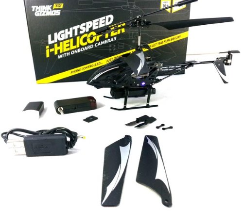Lightspeed i-Helicopter with Onboard Camera | Think Gizmos ...