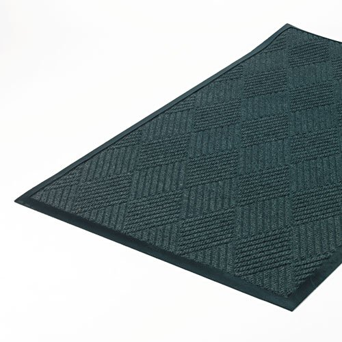 Crown Super-Soaker Diamond Mat, Polypropylene, 34 x 58, Slate ()