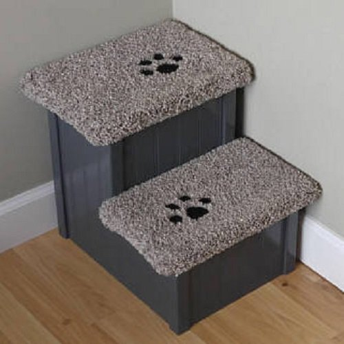 Best Pet Stair, 15'' High Dog Step, Pet Step for Dogs 5-50 lbs, Pet Furniture, Dog Stair by Hampton Bay Pet Steps