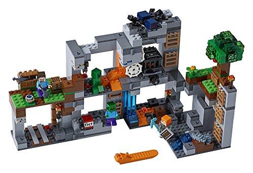 51tXyo0DQcL - LEGO Minecraft The Bedrock Adventures 21147 Building Kit (644 Piece)