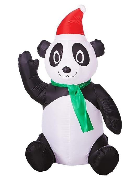 Airblown Panda Inflable, 3.5 pies de Alto: Amazon.es: Jardín