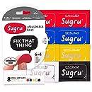 Sugru Moldable Glue - Classic Multi-Color (Pack of 8)
