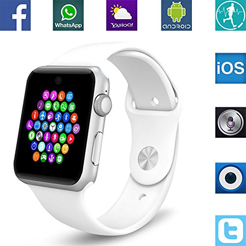 Banaus BS19 Smart Watch with 4.0 Bluetooth, SIM Card Slot...