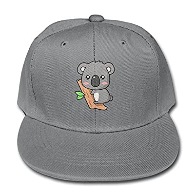 Cute Australia Koala Bear Boy and Girls Snapback Baseball Hats Youth Size Cap