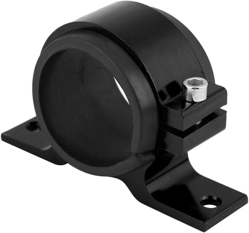 KIMISS Universal Black 30 Micron Billet Aluminum Inline Fuel//Petrol Filter+Bracket AN6//AN8//AN10 Silver