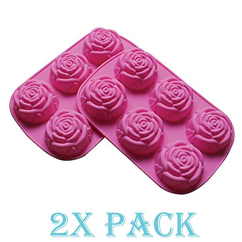 Large Flower Chocolate Silicone Party product image
