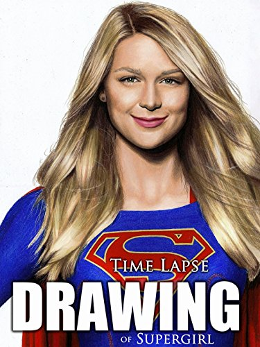 Clip  Time Lapse Drawing Of Supergirl