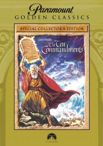 The Ten Commandments [DVD] by Charlton Heston B01I0762QU