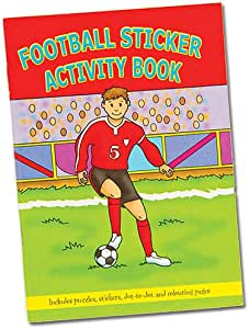 Football Activity Books (Pack of 6) by Party Bags 2 Go: Amazon.es: Hogar