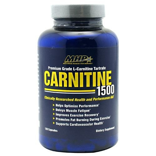 Carnitine 1500, 120 Capsules by MHP