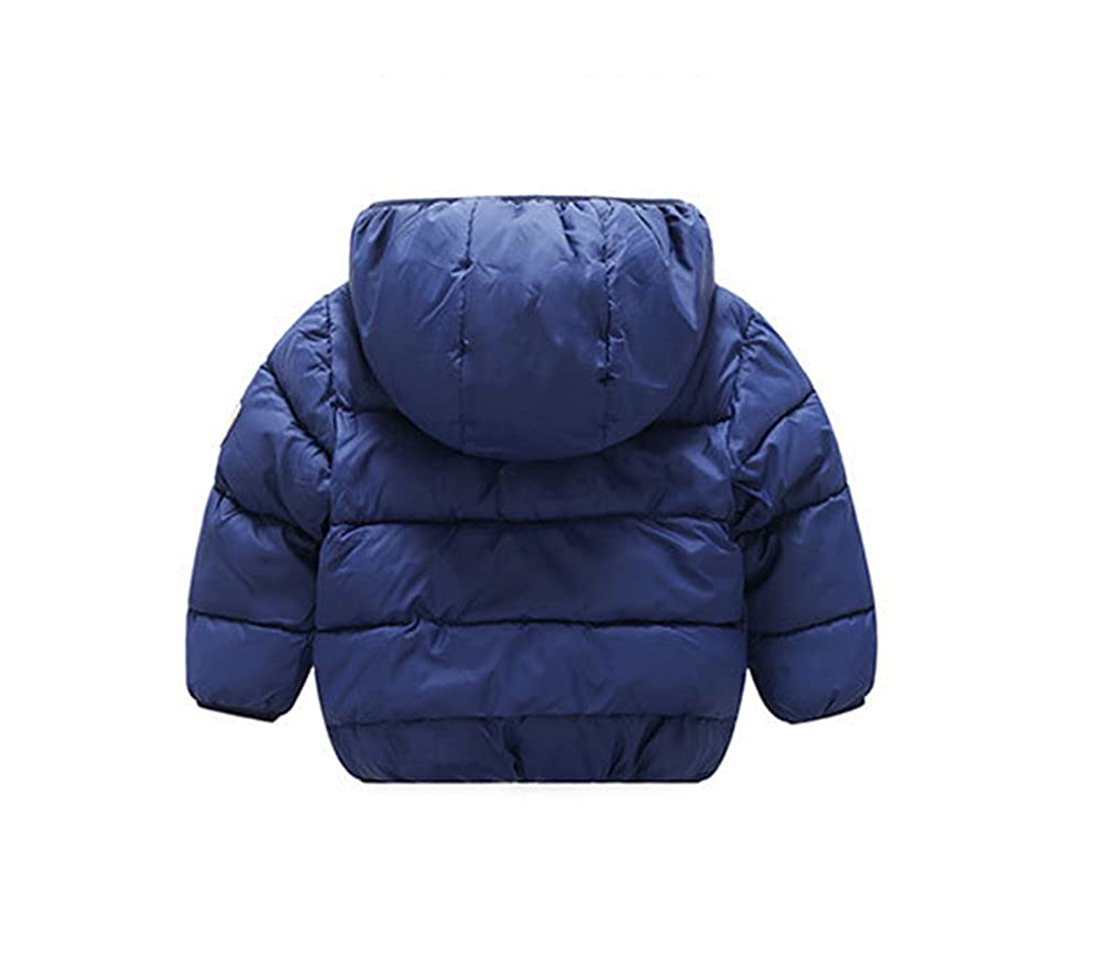 936d21ede Amazon.com: Baby Boys Girls Winter Puffer Coat Unisex Kids Fleece Lined  Jacket Hoodies Warm Outwear Overcoat: Clothing