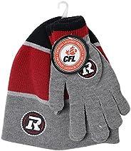CFL Ottawa Redblacks Adult Hat and Glove Set