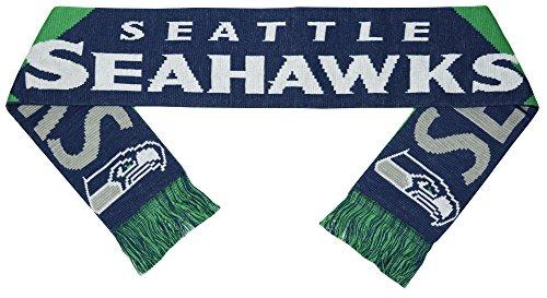 Seahawks Big Logo Jacquard Jersey Scarf by SCARVES ZONE