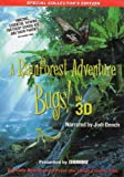 Bugs A Rainforest Adventure IMAX 3D DVD (requires Sensio processor or compatible software for 3D viewing)