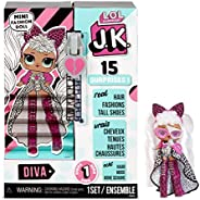 L.O.L. Surprise! JK Diva Mini Fashion Doll with 15 Surprises