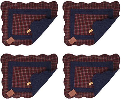 Quilted Cloth Placemats - 7