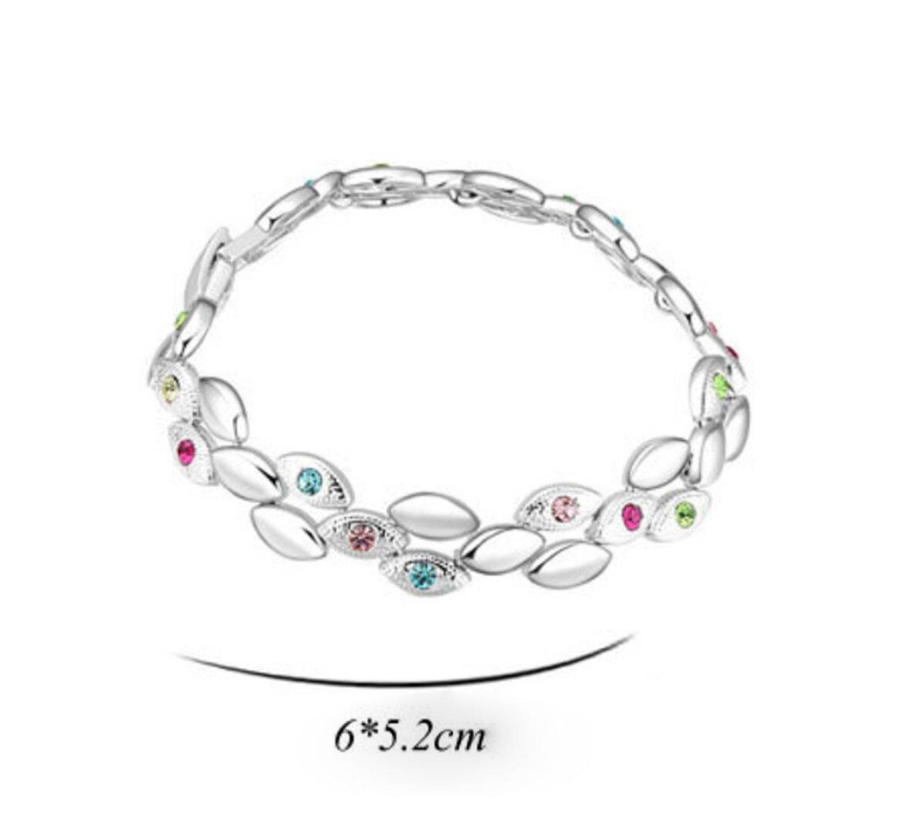 820d715ac9ee Pulsera 13927 De Mujer. Cristal De Austriaco Hermoso De La Mujer ...