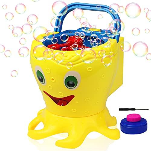 ZIZICG Bubble Machine for Toddlers, Kids, 1000+ Bubbles/min Electric Automatic Bubble Maker Blower
