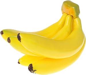 Youngy Artificial Banana, Realistic Lifelike Artificial Banana Bunch Fruit Fake Display Prop Decorative Food Home Party Decor - 2