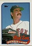 Baseball MLB 1989 Topps #188 Dennis Lamp Red Sox