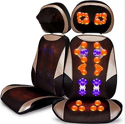 Cojín eléctrico de la silla del masaje con calor (un total ...