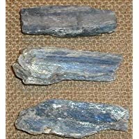 Kyanite Blue Crystal Rough Natural Blade 20-30 mm x3