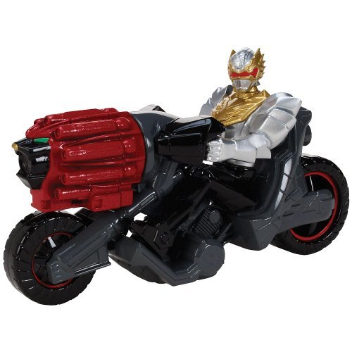 Power Rangers Megaforce Robo Knight Lion Cycle]()
