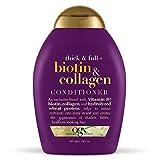 Ogx Acondicionador Engrosador de Biotina y Colágeno, 385 ml, color morado