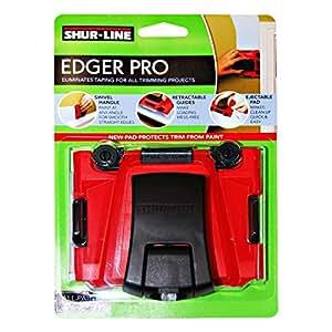 Shurline Paint Premium Edger Paint Brush - 1000-4 Oz, Red