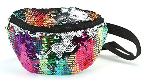 FP-100-MS-0642 Festival Fanny Pack - Sequin (Rainbow)