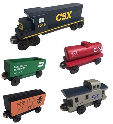 Whittle Shortline Railroad - Manufacturer CSX Railway GP-38 Diesel 5pc. Set