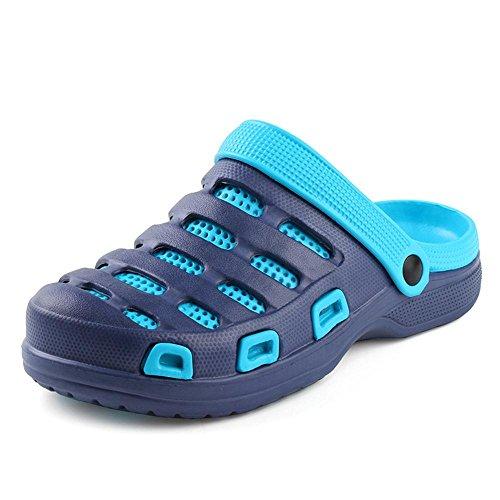 Disponibili Kemosen Leggeri Colori Scarpe in Donna Pantofole Uomo 10 Sandali da Spiaggia Ultra Cielo Blu Zoccoli SxwFSvOBrq